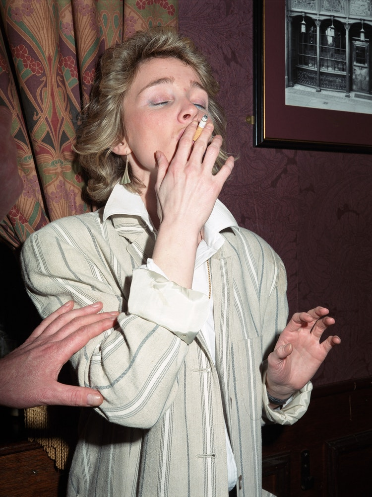 <i>woman smoking</i>, New Europe (1986-92)