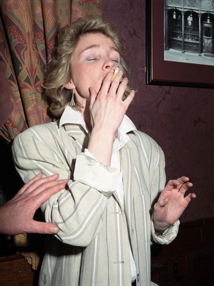 <i>woman smoking</i>, New Europe (1986-92)