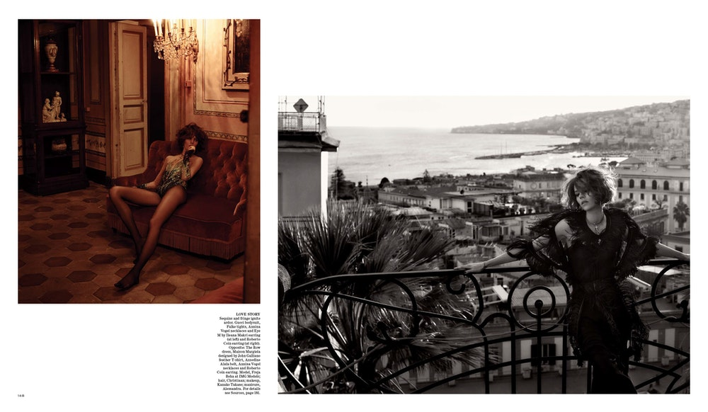 WSJ Magazine, Stylist: George Cortina.