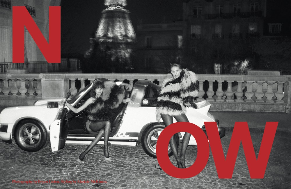 'Now', <i>Self Service</i> A/W 2019. Stylist: Alastair McKimm. Brand: Saint Laurent