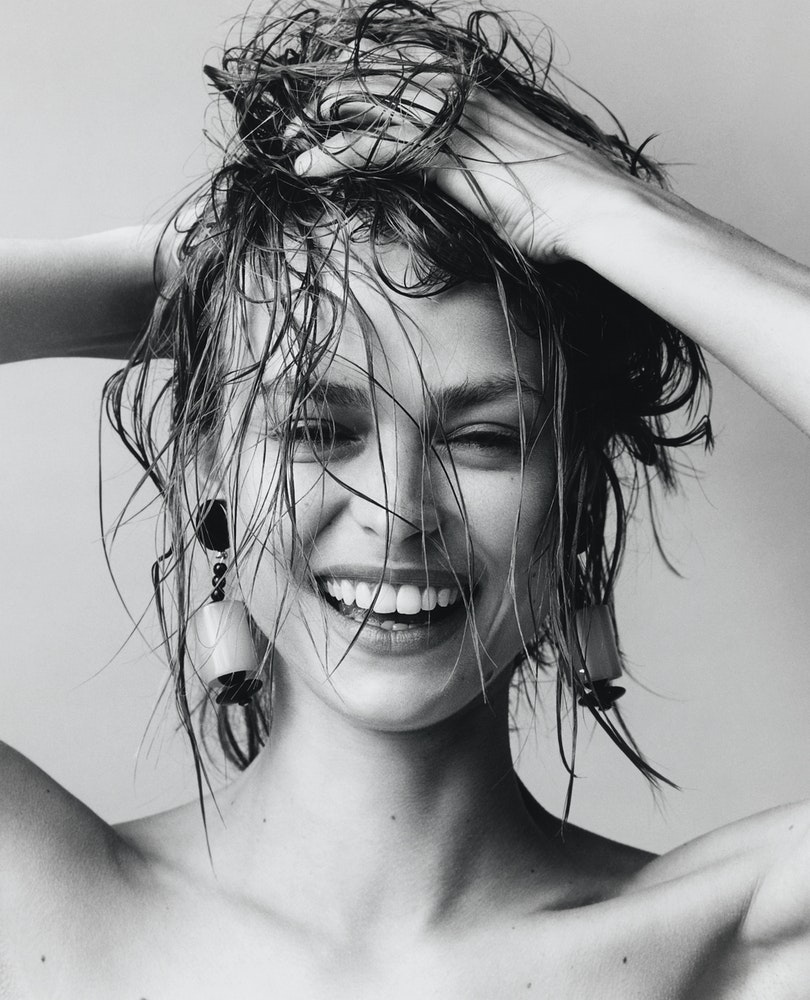 Vogue Italia, Armani Beauty, Make-up: Linda Cantello.