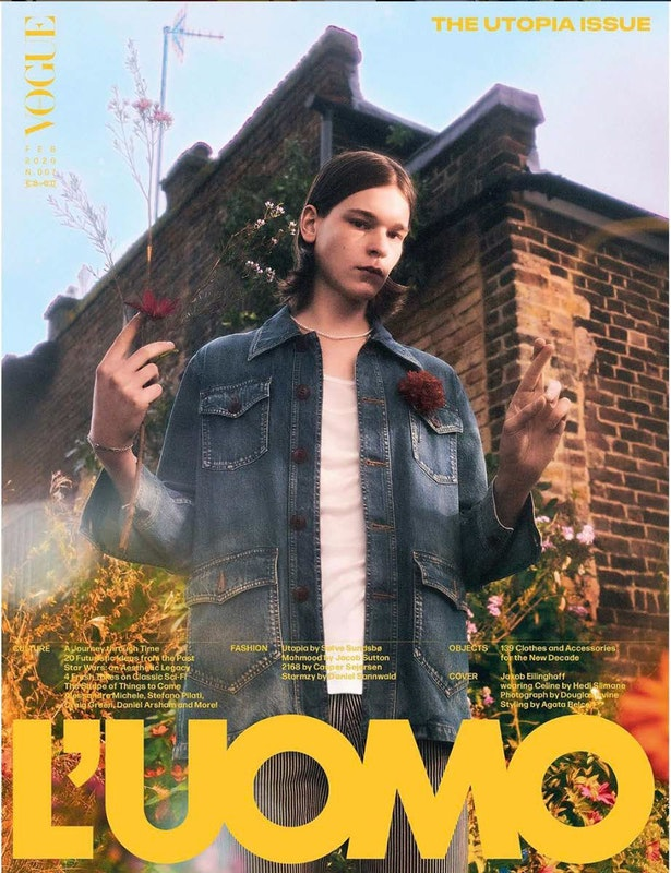 Cover image for project titled L'Uomo Vogue January 2020