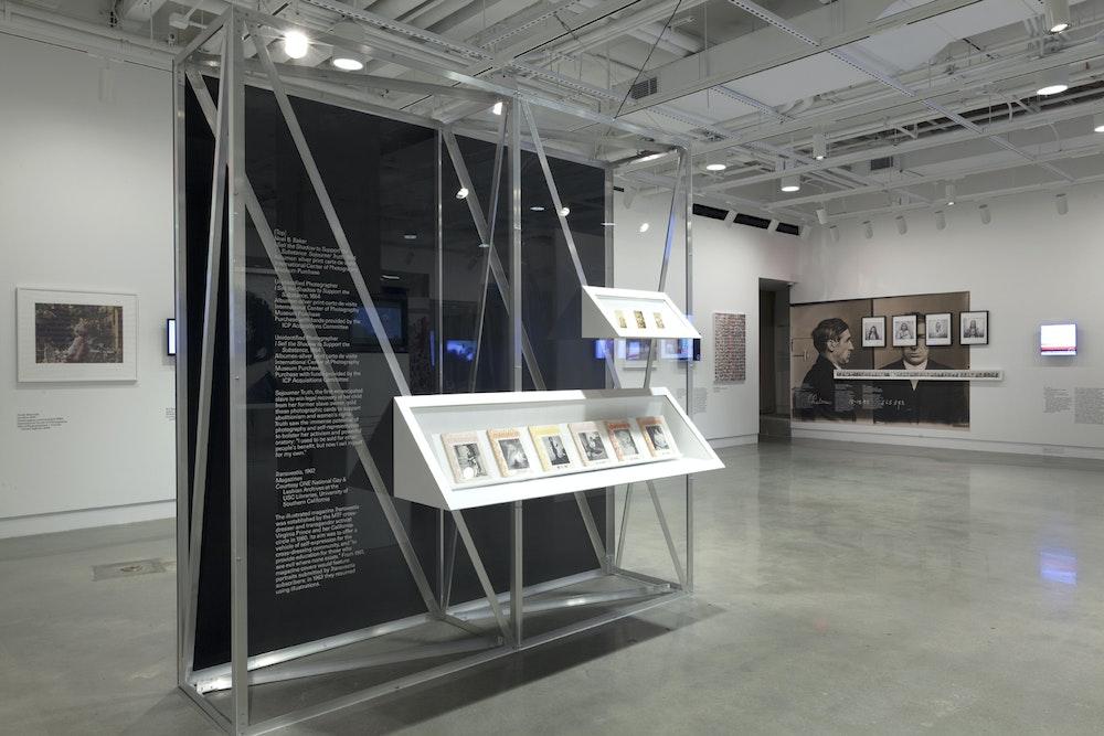 <i>Public, Private, Secret</i> installation (Sojourner Truth), International Center of Photography, NY, 2016-17