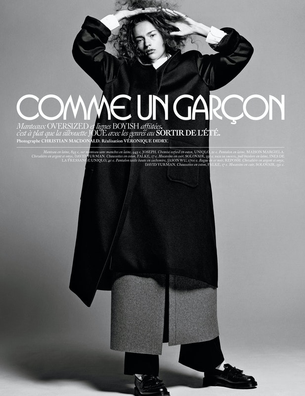Cover image for project titled Miss Vogue 'COMME DES GARCONS'.