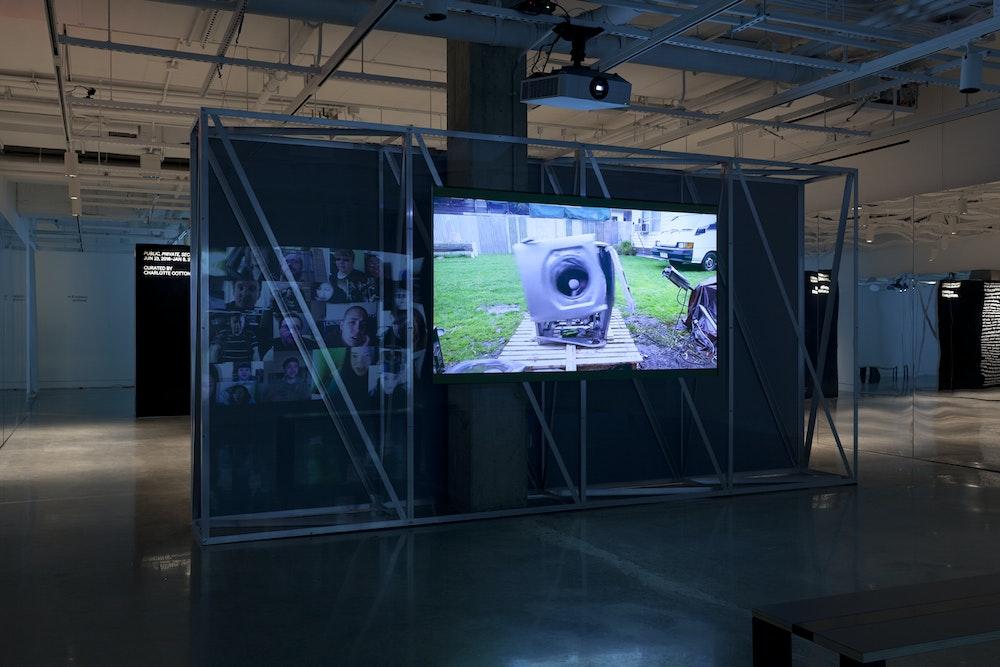 <i>Public, Private, Secret </i>installation (John Rafman), International Center of Photography, NY, 2016-17
