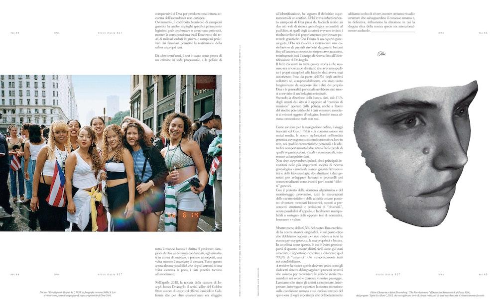 'All Free Today' (essay), <i>Vogue Italia</i>, July 2019.