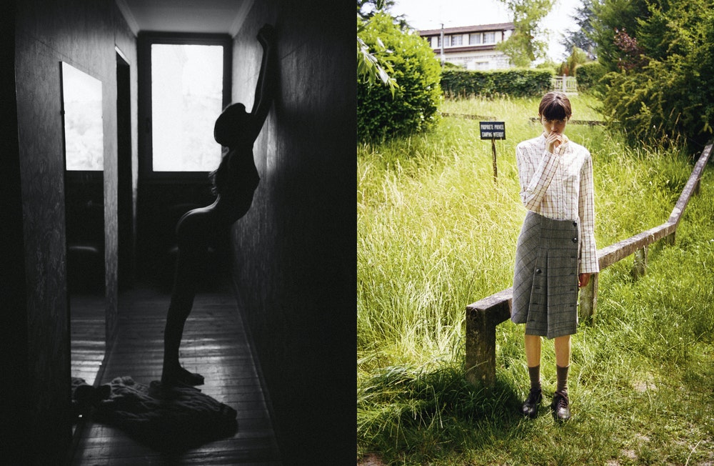 'Into The', <i>Self Service</i> A/W 2019. Stylist: Charlotte Collet. Subject: Grace Hartzel
