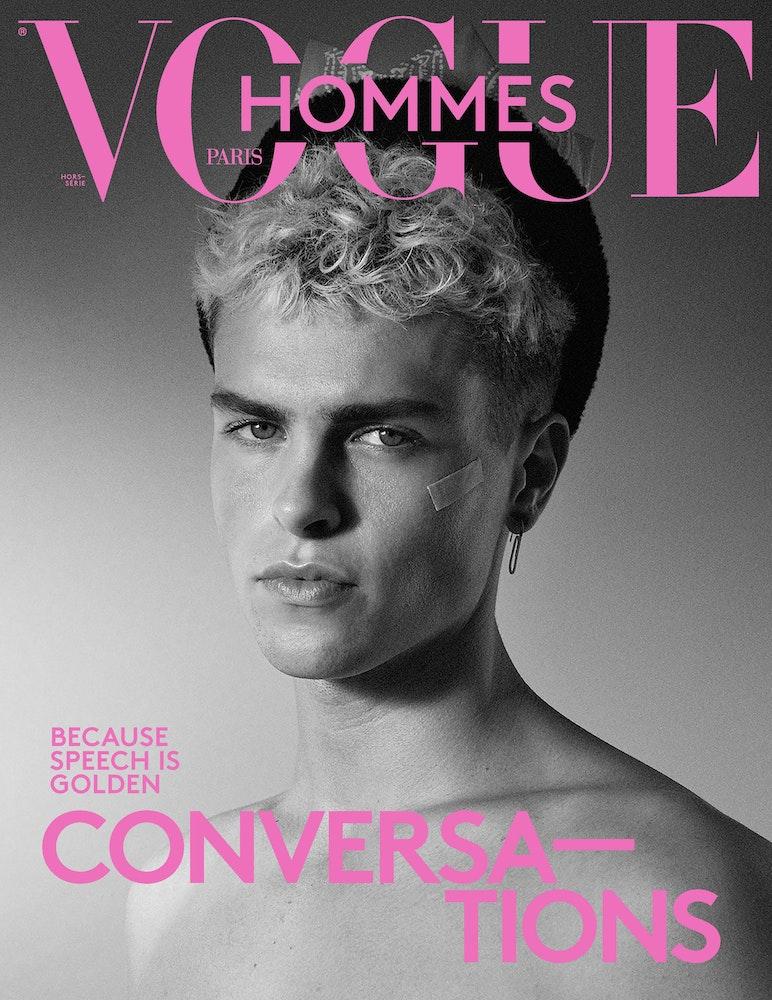 Vogue Hommes FW21, Photographer Glen Luchford