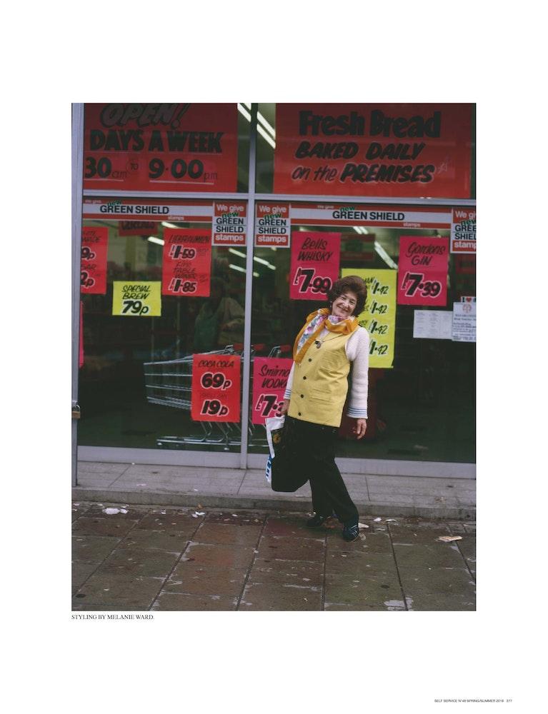 Age Old Fashion: Nigel Shafran 1989', <i>Self Service</i> magazine, September 2018