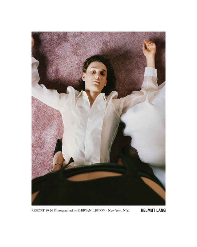 Cover image for project titled Helmut Lang Resort 2019 styled by Carlos Nazario