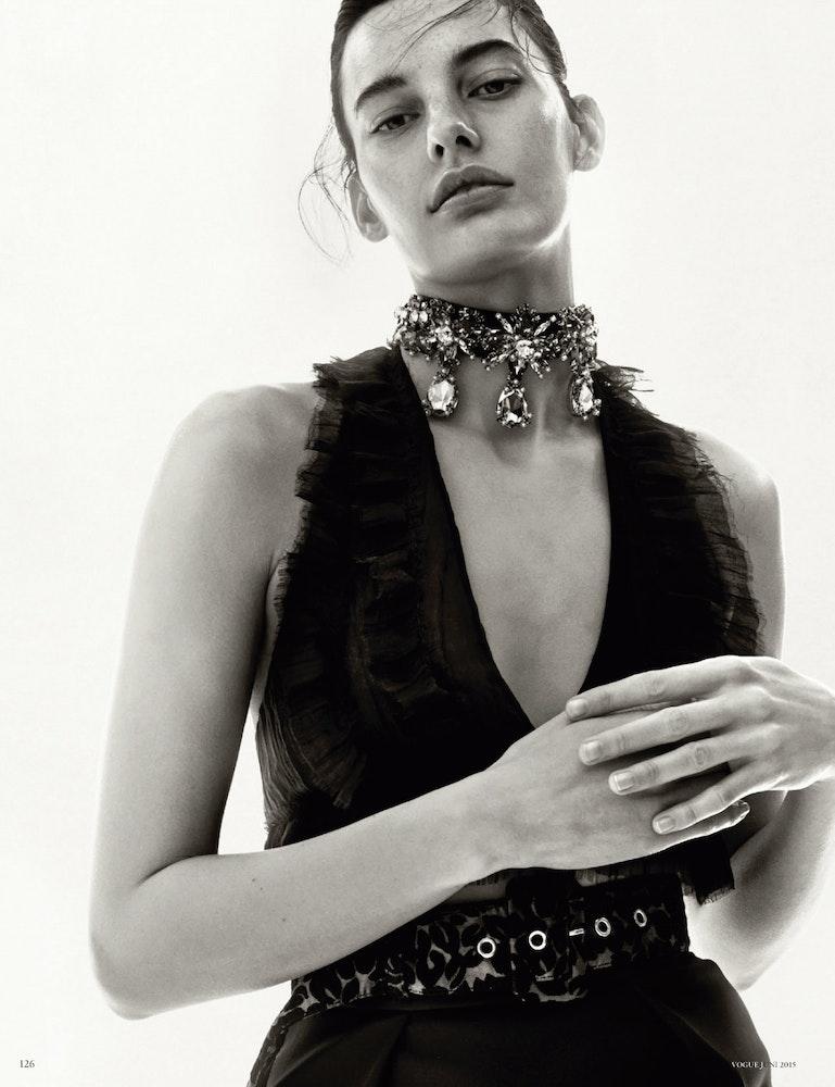 Vogue Germany, Stylist: Julia von Boehm.