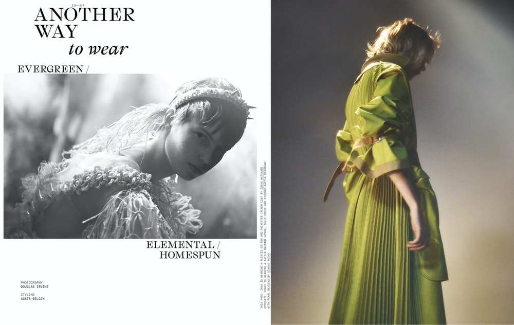 Another Magazine, Stylist: Agata Belcen, SS2020