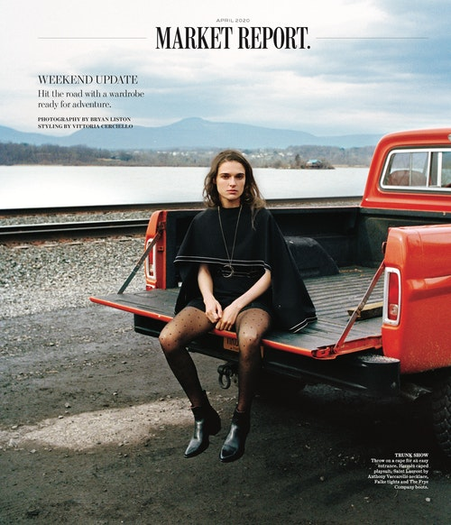 WSJ Magazine April 2020, Stylist: Vittoria Cerciello. Subject Lily Vogt.<div><br></div>