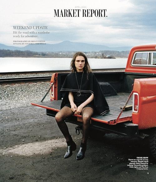 WSJ Magazine April 2020, Stylist: Vittoria Cerciello. Subject Lily Vogt.<div><br></div>