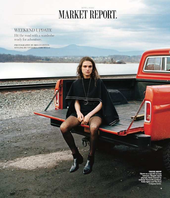 Cover image for project titled WSJ Magazine, April Market Report (2020)