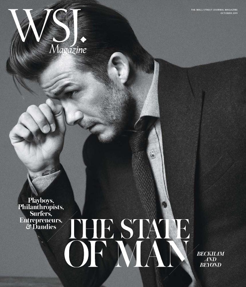 WSJ Magazine, David Beckham.