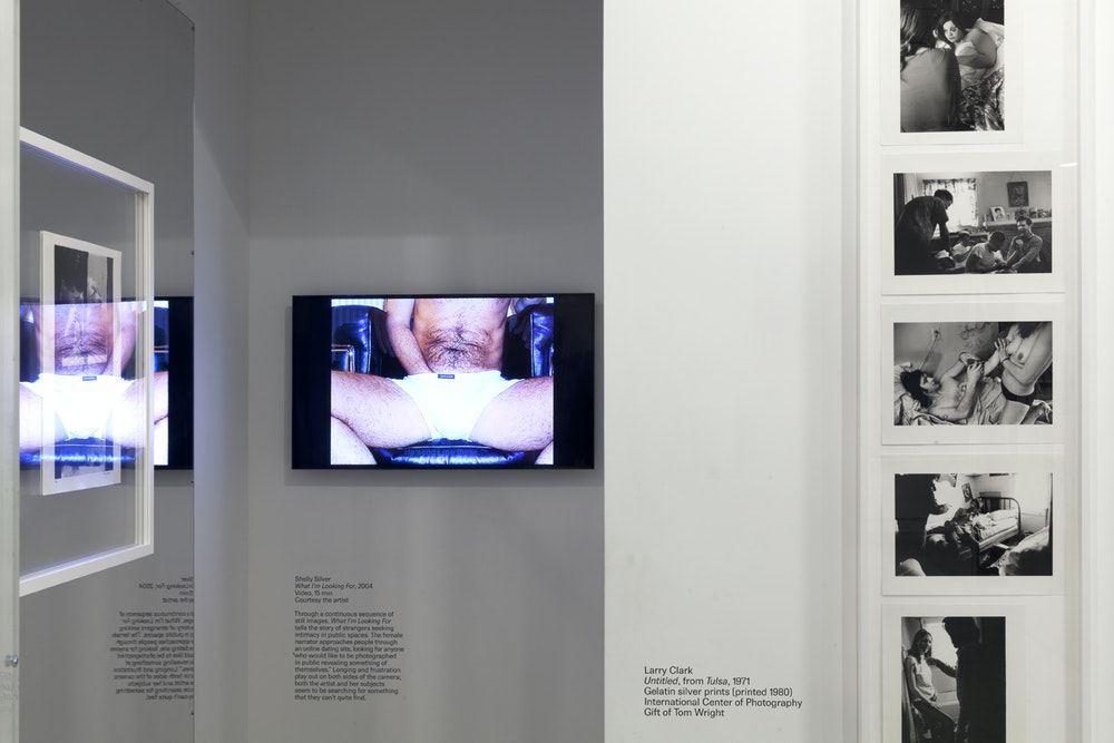 <i>Public, Private, Secret</i> installation (Shelly Silver and Larry Sultan), International Center of Photography, NY, 2016-17