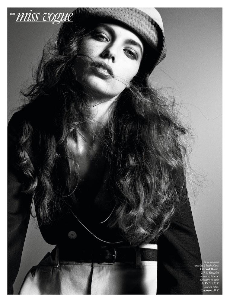 MISS VOGUE 'A cause des garçons', Stylist: Géraldine Saglio.