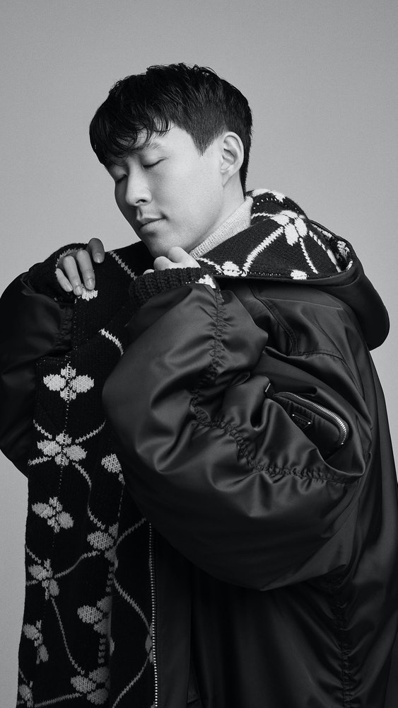 Arena Homme Plus # 55, Son HeungMin Styling: Stephanie Waknine