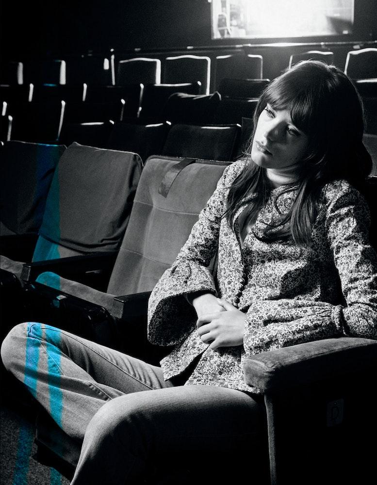 Interview Magizine, Stacy Martin. Stylist: Celia Azoulay