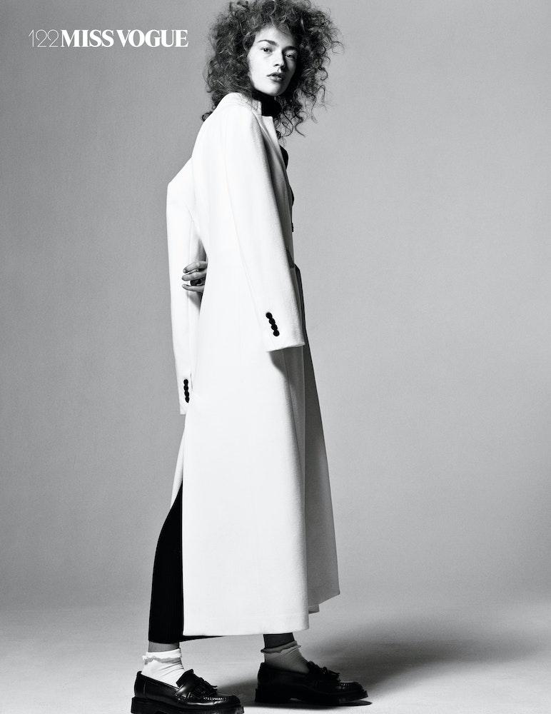 Miss Vogue 'COMME DES GARCONS', Stylist: Veronique Didry.