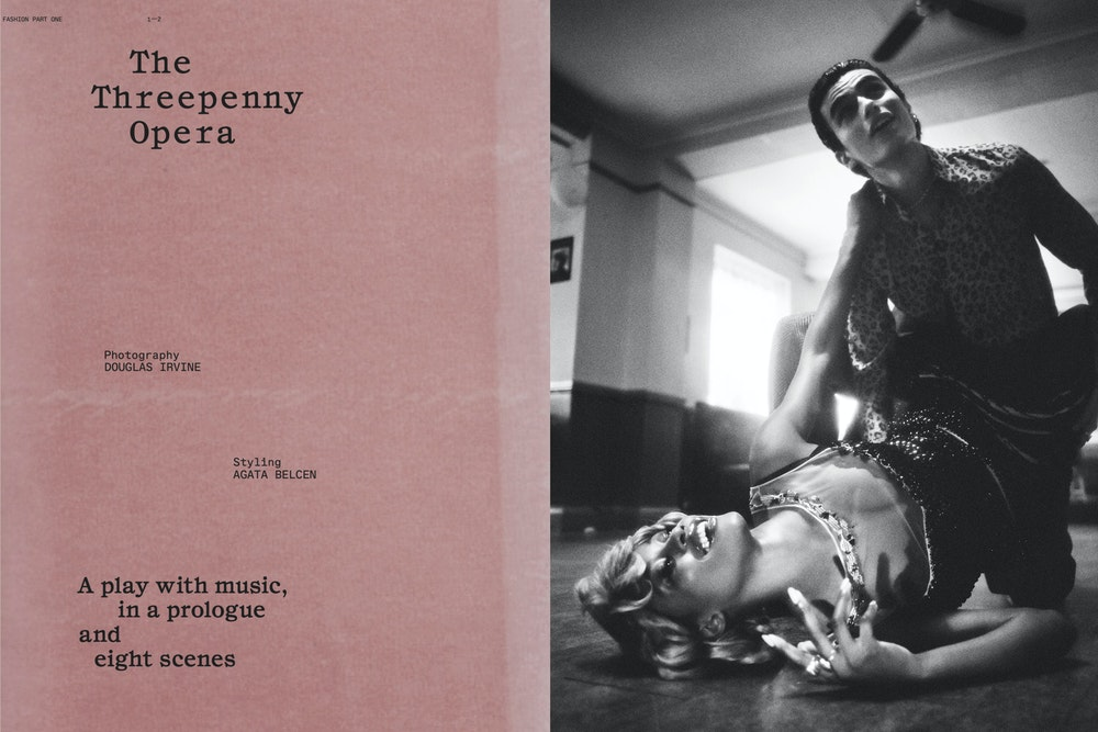 Another Magazine, Styling: Agata Belcen
