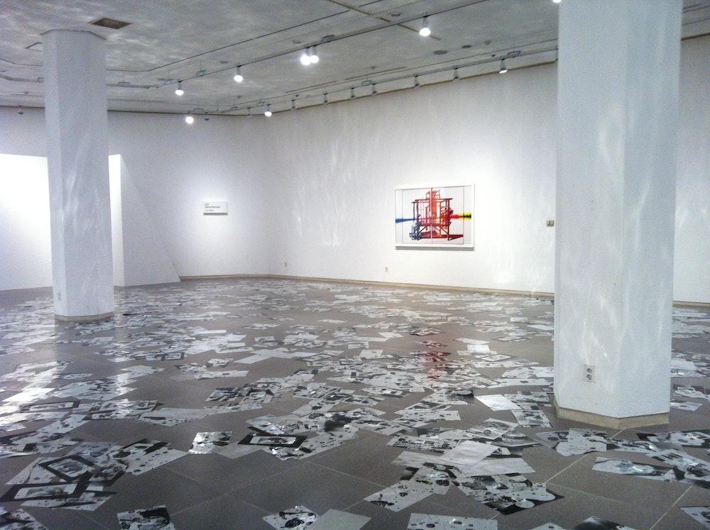 <i>Photography Is Magic!</i> installation (Carter Mull), Daegu Photo Biennale 2012, S Korea