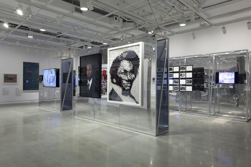 <i>Public, Private, Secret</i> installation (Rashid Johnson and Vik Muniz), International Center of Photography, NY, 2016-17