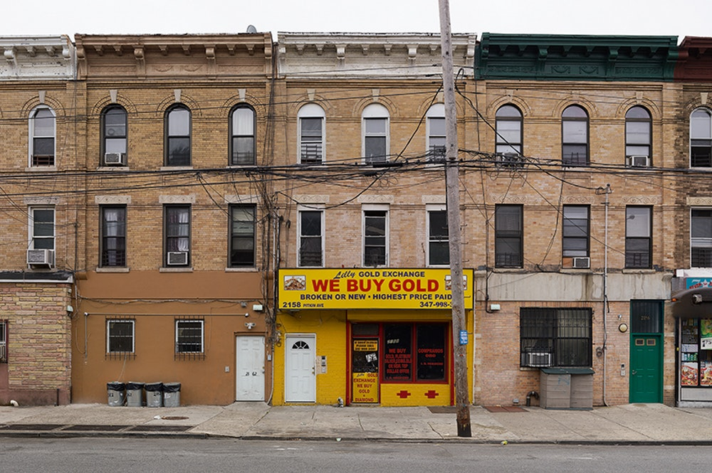 <i>Lilly's Gold Exchange, Brownsville, New York, 2013</i>, Does Yellow Run Forever? (2011-14)