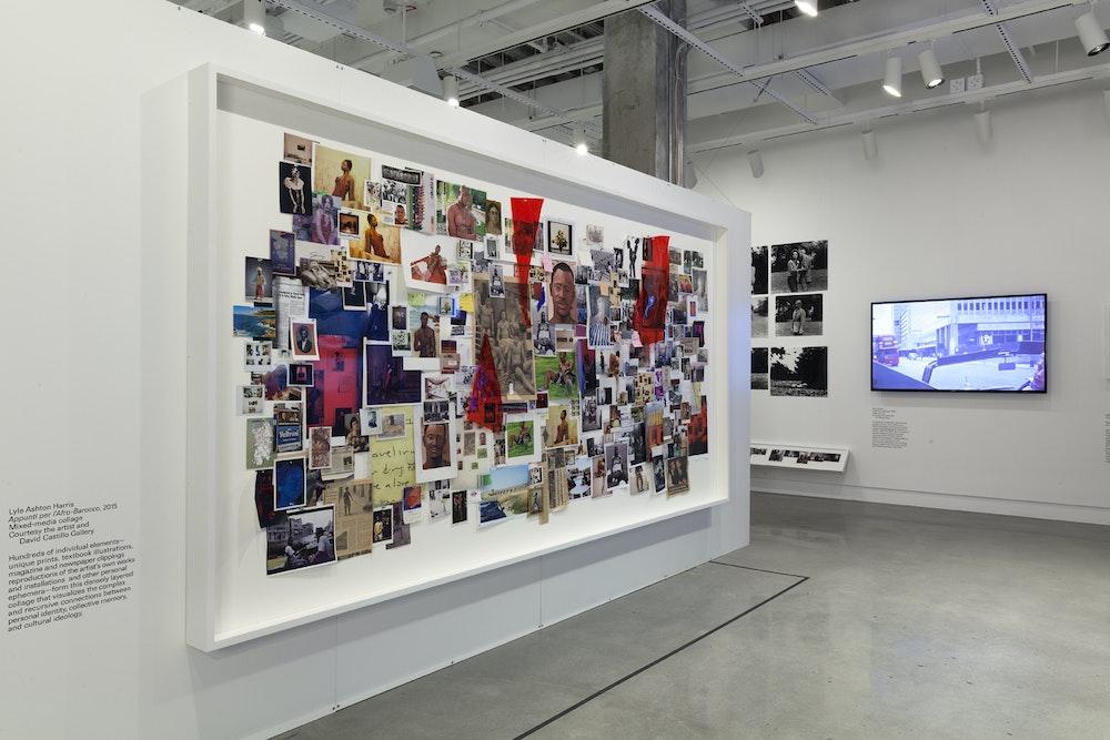 <i>Public, Private, Secret</i> installation (Lyle Ashton Harris), International Center of Photography, NY, 2016-17
