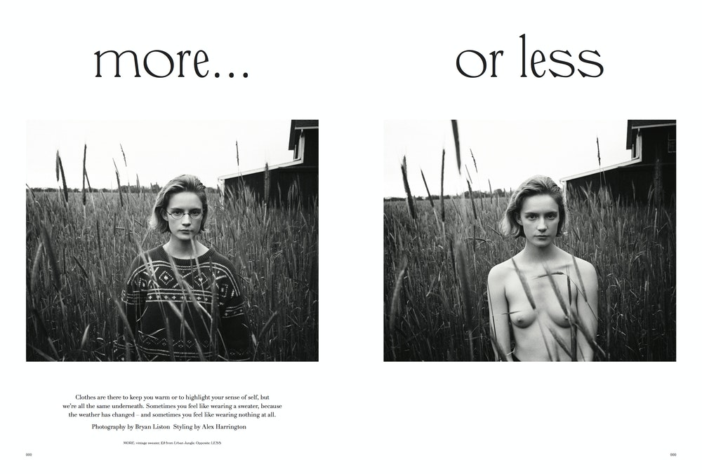 <i>More or Less</i> 03. Stylist: Alex Harrington