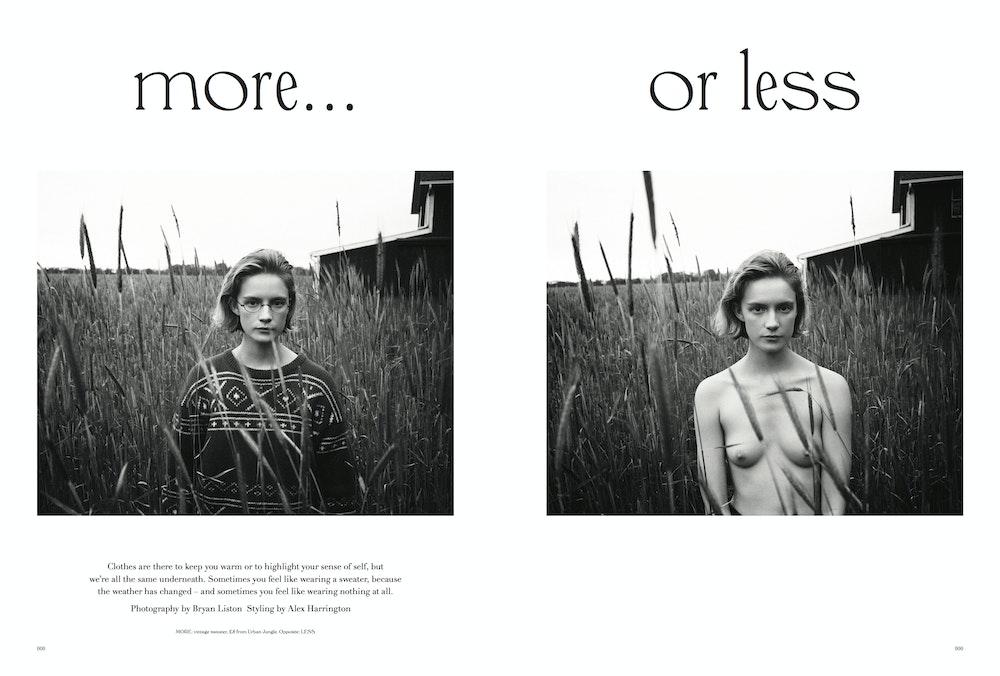 <i>More or Less</i> 03. Stylist: Alex Harrington