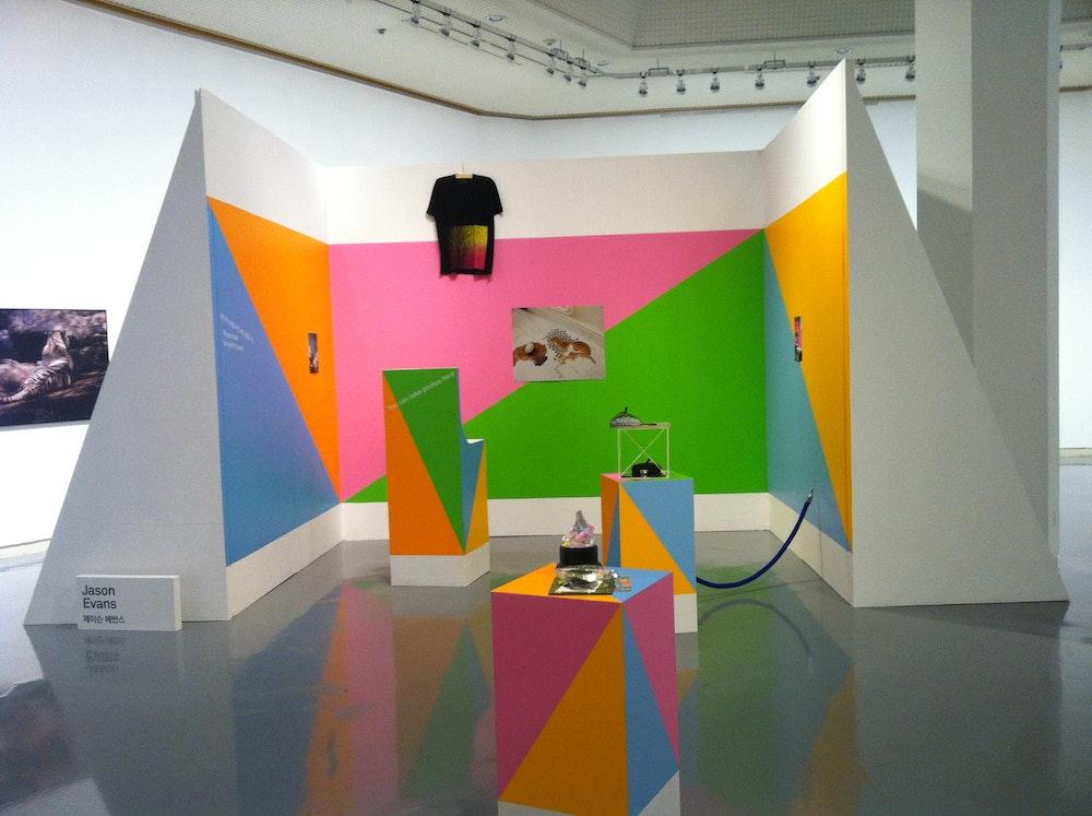 <i>Photography Is Magic!</i> installation (Jason Evans), Daegu Photo Biennale 2012, S Korea