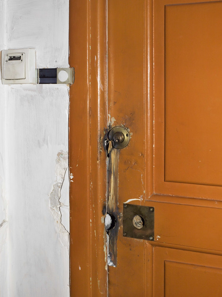 <i>Lahouaiej-Bouhlel's door, Nice, 2016,</i> Gendarme Sur La Colline (2017)