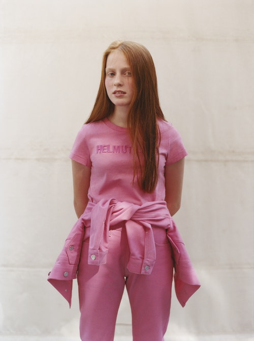 Helmut Lang Red Heads