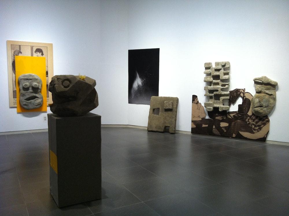 <i>Photography Is Magic! </i>installation (Emmeline de Mooij), Daegu Photo Biennale 2012, S Korea