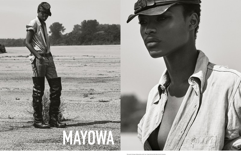 "Cover image for project titled The Last Magazine, ""Mayowa""."