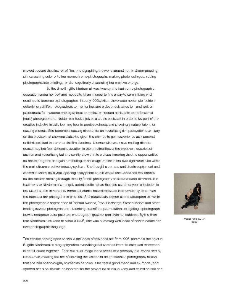 <i>Brigitte Niedermair: Me and Fashion </i>(2019). Essay