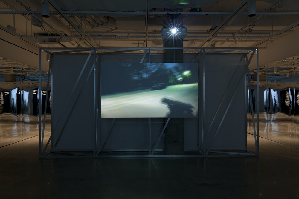 <i>Public, Private, Secret</i> installation (Doug Rickard), International Center of Photography, NY, 2016-17
