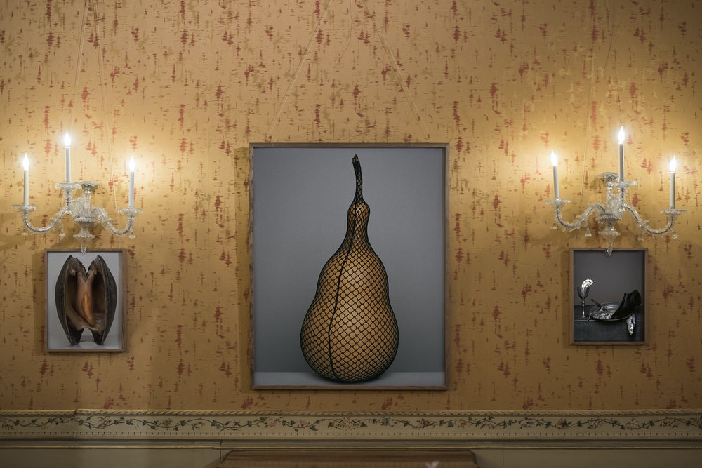 <i>Brigitte Niedermair: Me and Fashion </i>installation, Palazzo Mocenigo, Venice Biennale, 2019
